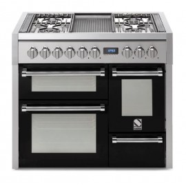 Piano de cuisson STEEL GENESI 100, triple four