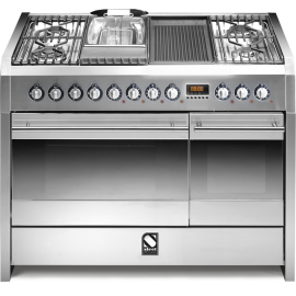 Piano de cuisson STEEL SINTESI 120 Electrique-gaz