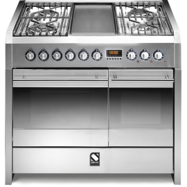 Piano de cuisson STEEL SINTESI 100 Electrique-gaz