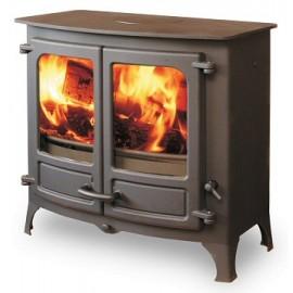 Vitre de poêle à bois, cheminées ou poêles à granulés