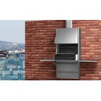 Barbecue inox Rocal PLEK 66 Repliable