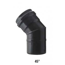 Coude à 45° émaillé pellet