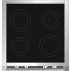 Piano de cuisson STEEL Ascot 70, Deux Fours multifonctions, 4 zones à inductions