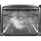 Piano de cuisson STEEL Ascot 70, Four vapeur, 4 zones à induction