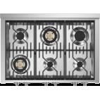 Piano de cuisson STEEL GENESI 100 Electrique-gaz. Triple four