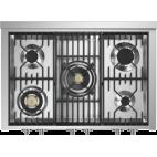 Piano de cuisson STEEL GENESI 100 Electrique-gaz Four vapeur, portes pleines