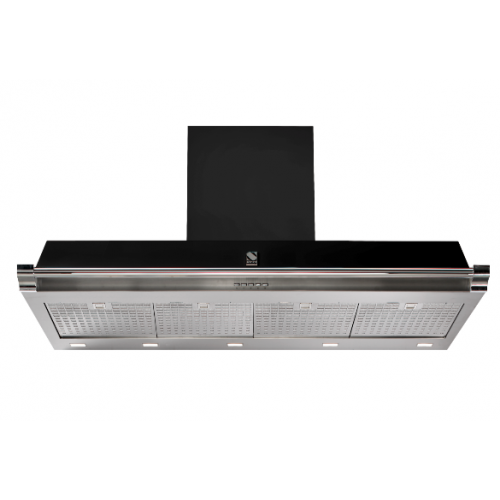 hotte aspirante steel ascot 120 dcharby. Black Bedroom Furniture Sets. Home Design Ideas