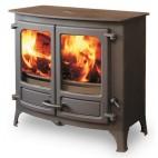 Vitre d'insert cheminée, de poêle à bois ou de poêle à granulés