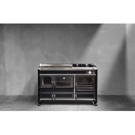 Cuisinière mixte Corradi Rustica R140LGE