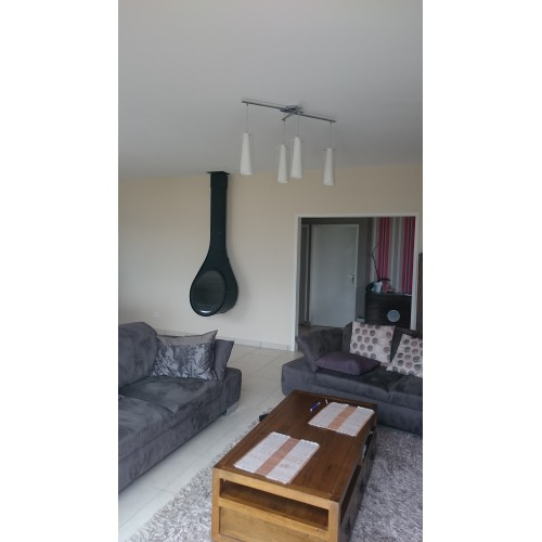 rocal drop po le bois suspendu design dcharby. Black Bedroom Furniture Sets. Home Design Ideas
