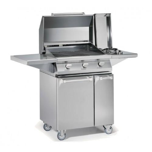 Barbecue gaz Steel Caddie W7C-3