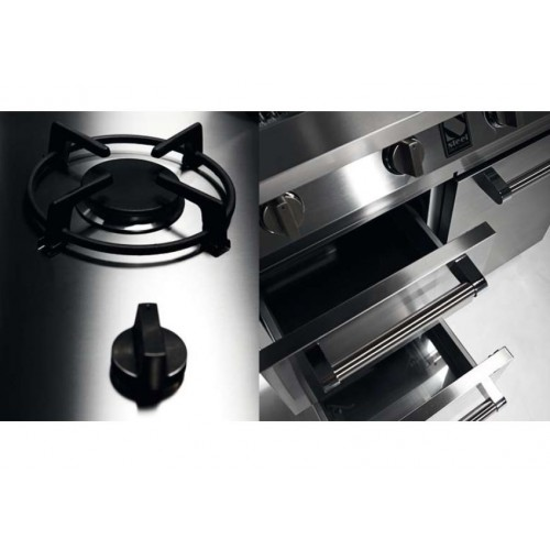 barbecue gaz steel caddie w7c 3 en inox dcharby. Black Bedroom Furniture Sets. Home Design Ideas
