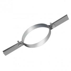 Collier de fixation haute pour tubage inox