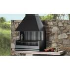 Barbecue charbon et bois Rocal Palma-75 Porche