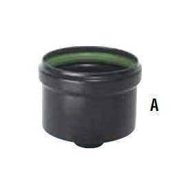 Tampon émaillé pellet Ø 80-100 mm