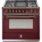 Piano de cuisson STEEL ASCOT 90 Gaz-Electrique, four vapeur