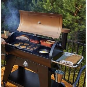 Barbecue à granulés